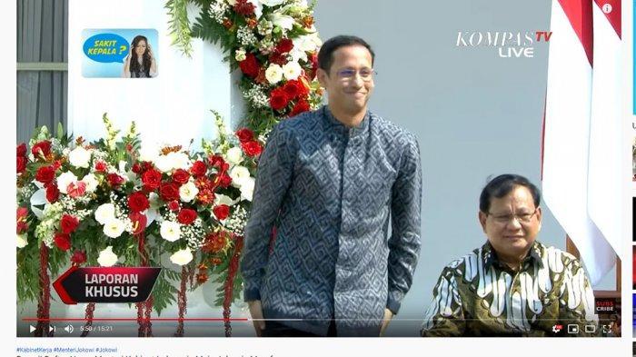 Pendiri Gojek Jadi Menteri Termuda di Kabinet Indonesia Maju, Jokowi: Saya Panggil Mas Aja