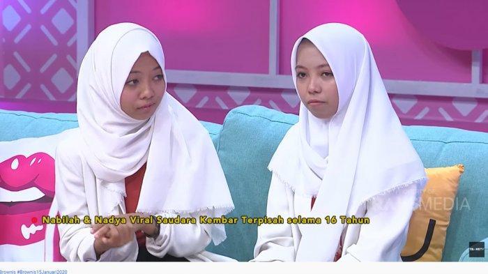 Terpisah 16 Tahun, Kembar Nabila & Nadya Lakukan Ini saat Bertemu hingga Buat Ruben Onsu Nangis