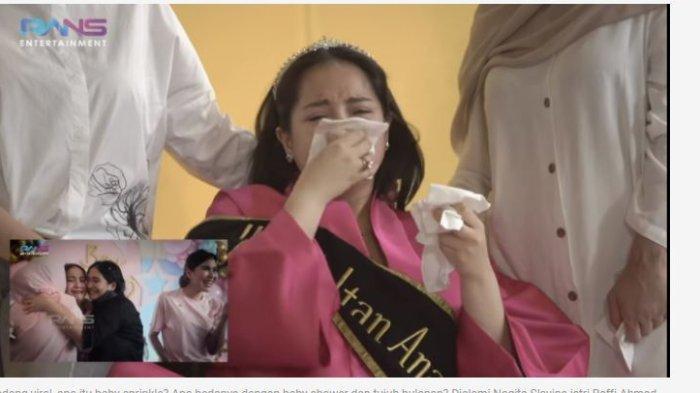 Nagita Slavina Nangis Kejer di Acara Baby Sprinkle, Reaksi Mama Amy Tuai Pujian dari Warganet