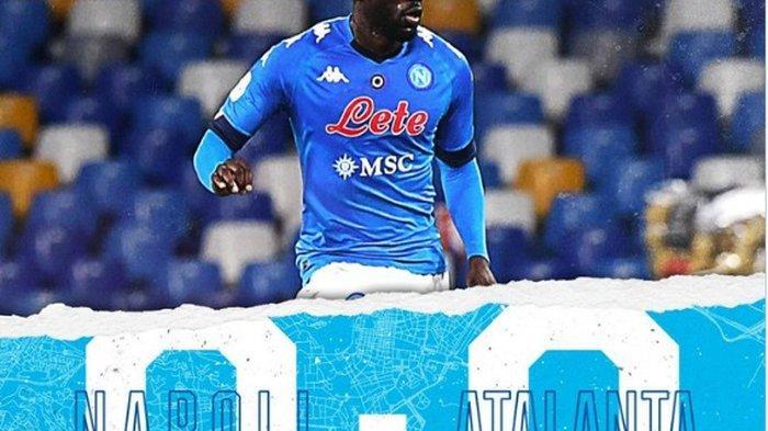 Napoli Vs Atalanta: Tuan Rumah Napoli Selamat Usai Digempur Leg Pertama Semifinal Coppa Italia