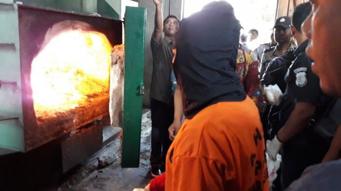 Disimpan di Bra dan Pembalut, Sabu Asal Malaysia Seberat 3 Kg Dimusnahkan