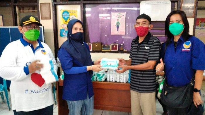Pimpinan Daerah (DPD) Partai NasDem Jakarta Pusat kembali menggelar bakti sosial di sejumlah wilayah sebagai upaya membantu warga yang terdampak Covid-19.