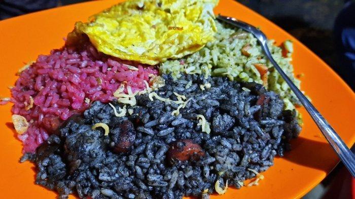 Mencicipi Nasi Goreng Warna Warni Racikan Mantan Pegawai Chef William Wongso