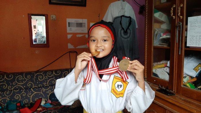Naurah Aura, Bocah Kelas 3 SD di Ciracas Berprestasi di Pencak Silat, Dapat Apresiasi Pemkot Jaktim