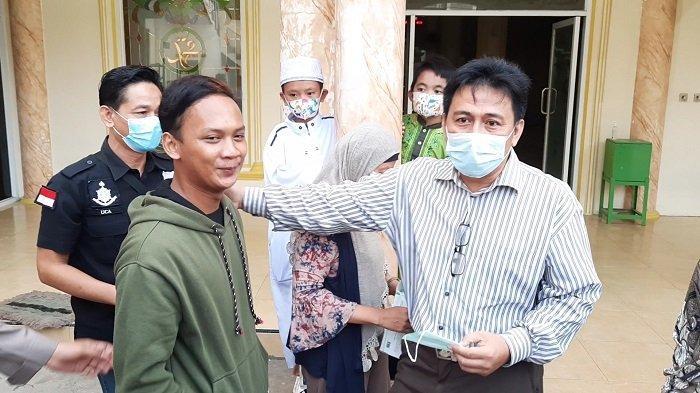 Disorot Warganet, Nawir Pemuda yang Ngotot Paksa Lepas Masker Jemaah Masjid Al Amanah Mengaku Kaget