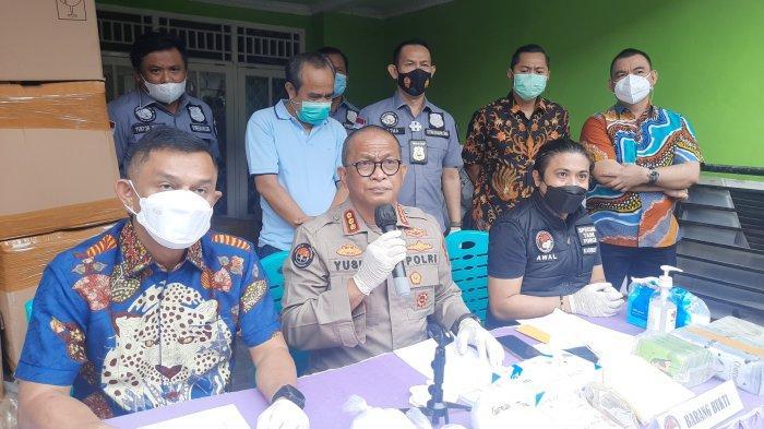 12 Orang Diamankan di Pabrik, Polisi Buru Reseller Kosmetik Makser Wajah Ilegal dari Bekasi