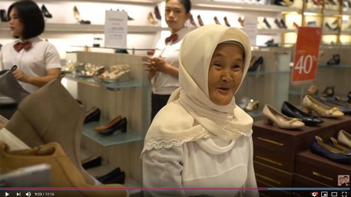 Viral Setelah Masuk YouTube Baim Wong, Kini Nenek Iro Punya Julukan Baru