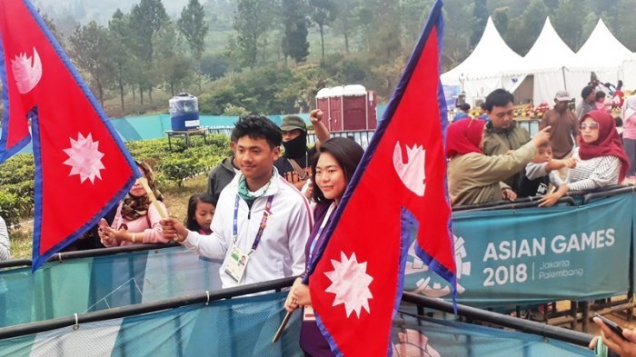 Jadi Atlet Paralayang Termuda di Asian Games, Yukeh Gurung Curi Perhatian Kaum Hawa Usai Berlaga