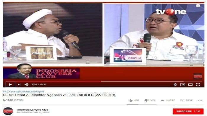Ditegur Karni Ilyas Saat Terlibat Debat dengan Fadli Zon, Ali Ngabalin Langsung Bereaksi