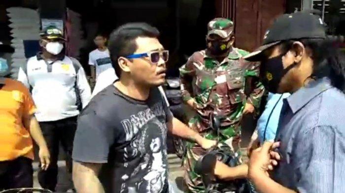 Pria di Ciracas Tolak Sanksi Razia Masker: Mengaku Anak Anggota TNI, Tak Percaya Covid-19