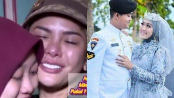 Dipeluk Nikita Mirzani, Tangis Istri Awak KRI Nanggala-402 yang Hamil 5 Bulan Pecah: Kangen