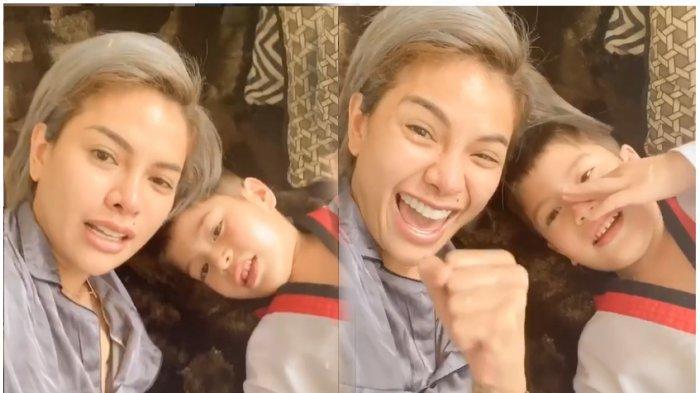 Cium Pipi Azka yang Terbaring di Rumah Sakit, Nikita Mirzani Ungkap Rasa Cinta: Lancar Operasinya