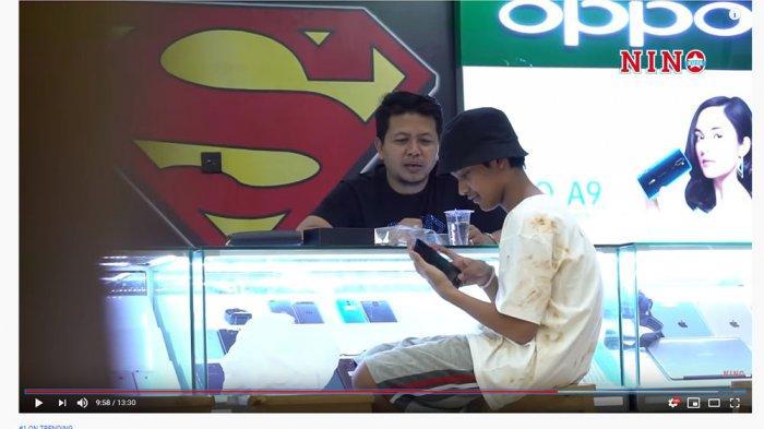 Pakai Baju Lusuh Beli Iphone 11 Rp 60 Juta, Anak Uya Kuya Sempat Dikira Pengemis saat Prank