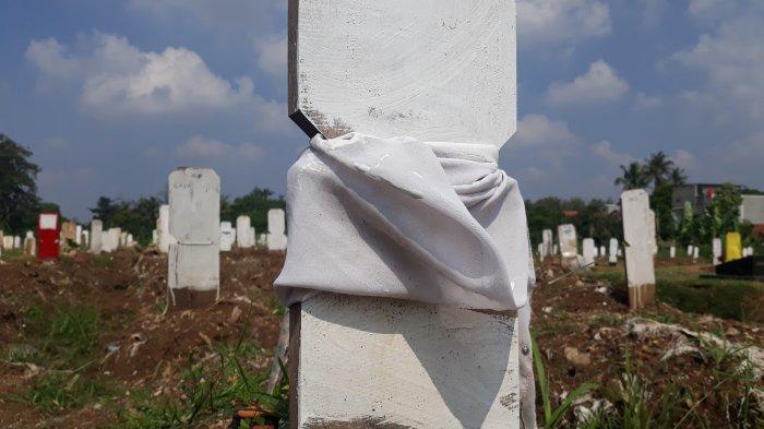 Diisi 1.300 Makam, TPU Srengseng Sawah Dipastikan Penuh Untuk Pemakaman Jenazah Covid-19