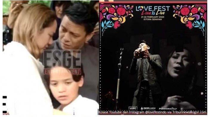 BCL 'Kejutkan' Penonton Konser NOAH, Bareng Ariel Lantunkan Lagu Mencari Cinta di Atas Pangung