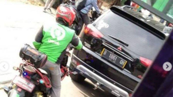Pelat nomor mobil Pajero dengan ekor QH yang dikemudikan pelaku OK ternyata palsu. OK ditetapkan sebagai tersangka penganiayaan terhadap sopir truk kontainer di Jakarta Utara beberapa waktu lalu.