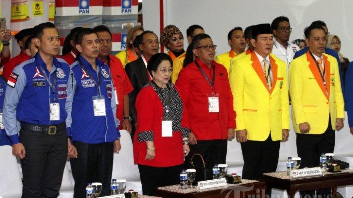 PDI Perjuangan Terbanyak Perolehan Suara Pileg, Ini 9 Parpol Lolos Senayan