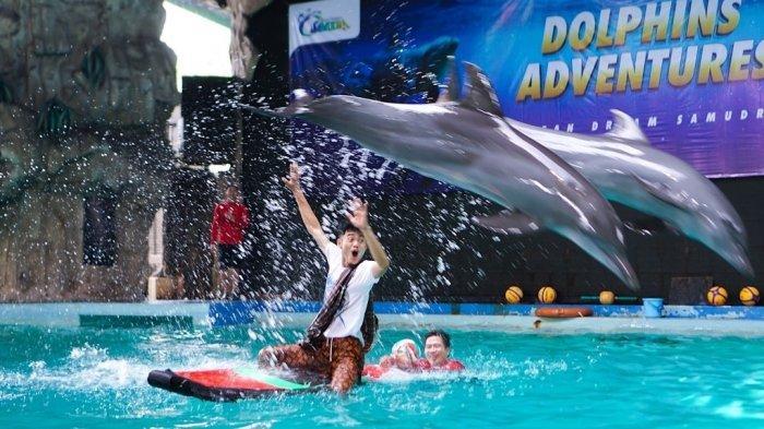 Ocean Dream Samudra Ancol Gelar Pertunjukan Hewan Laut dengan Kisah Kabayan Tak Bisa Mudik Lebaran