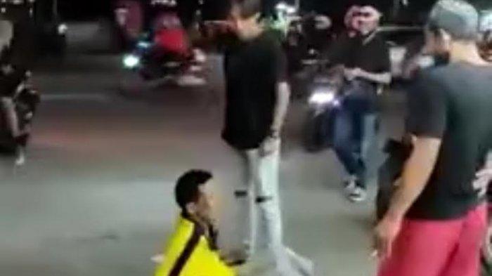 Viral ODGJ Ngamuk di Minimarket Pamulang, Setelah Diamankan Polisi Diajak Berkelahi