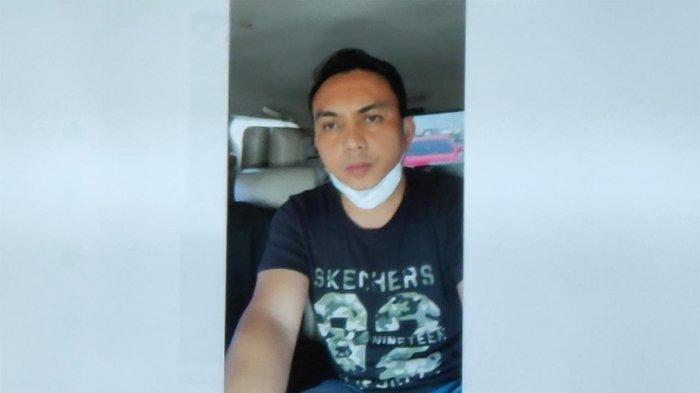 OK (40), pengemudi Pajero yang ditangkap usai aksinya memukuli sopir truk viral di medsos.