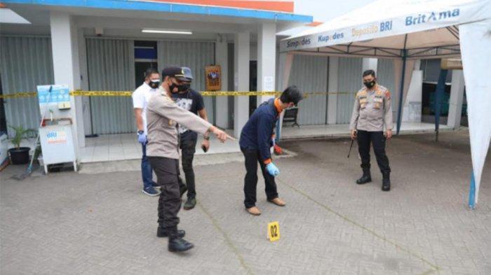 Perampokan Uang ATM Rp 300 Juta di Tangerang, Penjaga Ditembak Jarak Dekat Sampai Bolong