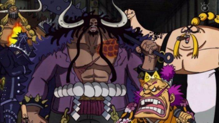 Manga One Piece 1026, Kaido Tersungkur di Onigashima Terkena Serangan Baru Monkey D Luffy