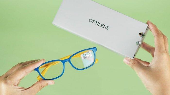 Solusi Lindungi Kesehatan Mata Anak Saat Belajar Daring, Optilens Rekomendasi Kacamata Anti Radiasi