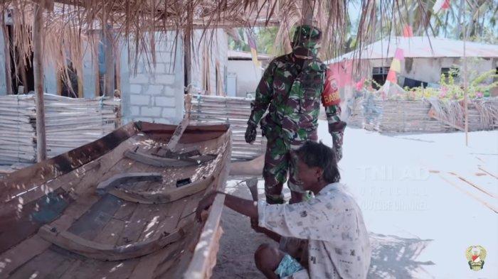Melihat Babinsa Desa Oseli Di Ujung Selatan NKRI: Hadapi Masalah Air, Alam dan Nasionalisme