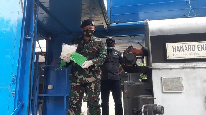 Otmil II-07 TNI Musnahkan Setumpuk Bukti Kasus, Ada Bahan Peledak, Senjata Laras Panjang dan Narkoba - otmil-ii-pemusnahan-1.jpg