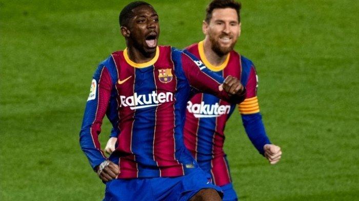 Hasil Liga Spanyol: Lawan 10 Orang, Barcelona Menang Tipis 1-0 vs Real Valladolid