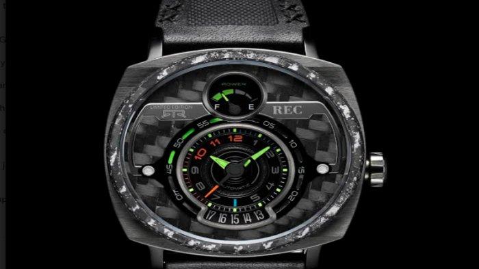 Tampilan jam tangan terbaru Jenis P-51 RTR dari REC Watches