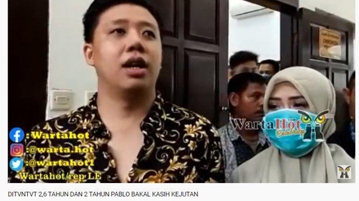 Pablo Benua sebut dirinya akan ajukan pledoi atas sidang kasus ikan asin.