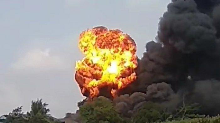 Kerugian Musibah Kebakaran Pabrik di PT Indofood di Tangerang Ditaksir Rp 1 Miliar