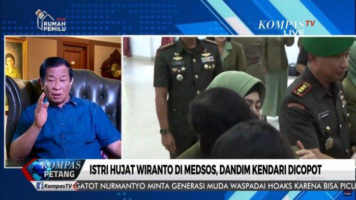 Agum Gumelar Minta Istri Prajurit TNI Paham Tugas Suami & Komentar Tudingan Kasus Wiranto Rekayasa