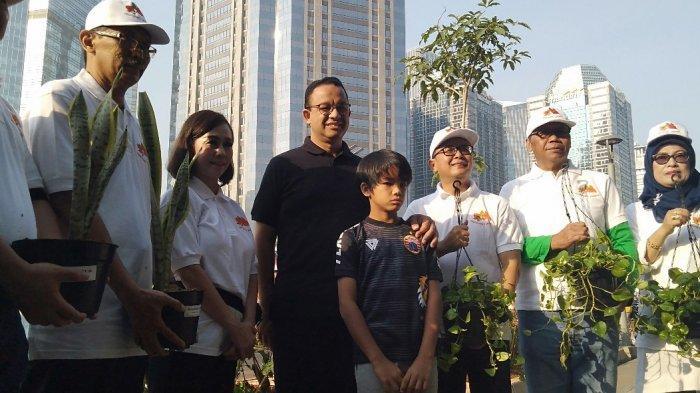 Anies Baswedan Sebut Pemprov DKI Jakarta Bangun 200 Taman Baru Sampai Tahun 2022