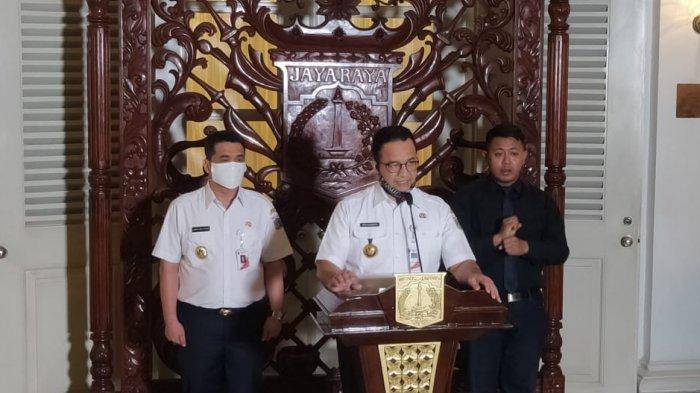 Viral Foto Keramaian saat PSBB di Jakarta, Anies Ungkap Data Sebaliknya: Berada di rumah Meningkat