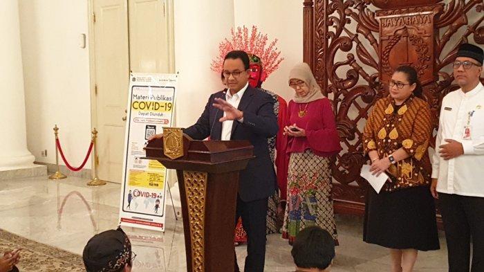 Gubernur Anies Minta Izin Menkes Terawan Gunakan 3 Laboratorium Tambahan Untuk Uji Virus Corona