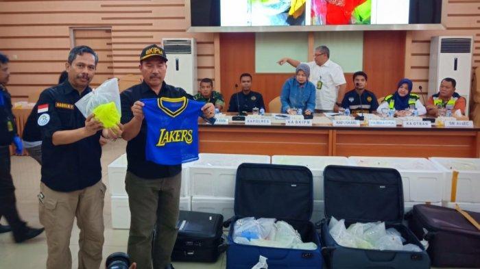 125.619 Benih Lobster Diselundupkan Dalam Baju Basket Lewat Bandara Soekarno-Hatta