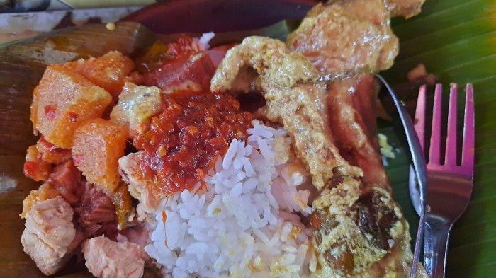 Modal Rp 5 Ribu Makan di Warung Ini Bisa Dapat Nasi Gudeg Lengkap Pakai Ayam