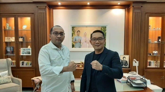 Sekjen Heikal Safar Datang Penuhi Undangan Gubernur Jabar, Ridwan Kamil: Sukses dan Maju Terus