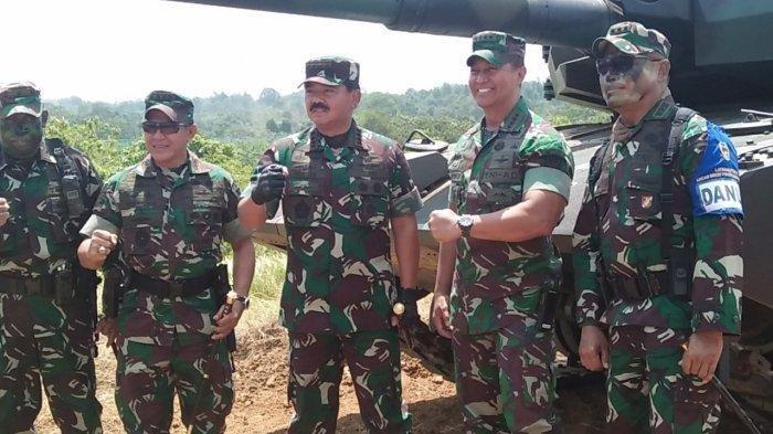 Postingan Istri Nyinyir Soal Wiranto, Ini Aktivitas Dandim Kendari sebelum Dicopot Jenderal Andika