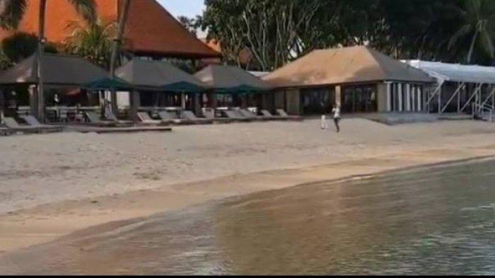 Karena Bukan Tamu Hotel Mewah, Warga Lokal Bali Diusir Satpam Saat Duduk di Tepi Pantai