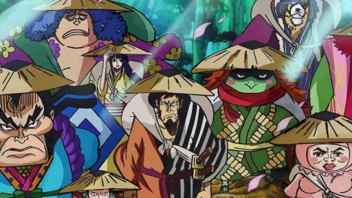 Spoiler One Piece 1012, Para Akazaya Susun Rencana Baru Untuk Memenangkan Perang di Onigashima