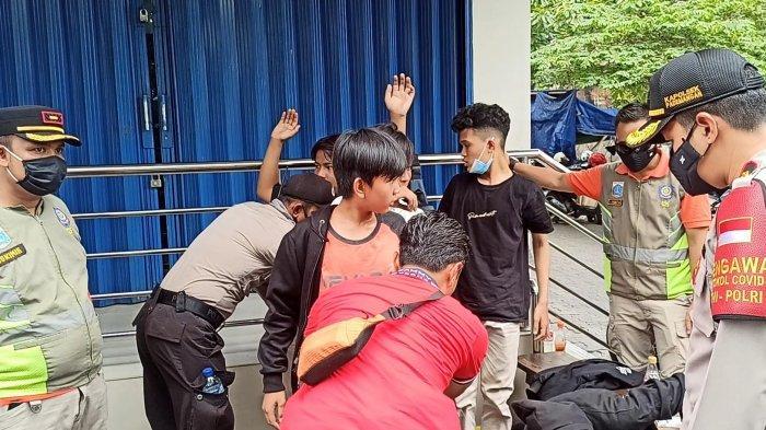 Diduga Hendak Demo, Lima Pelajar Diamankan dari Jalan Gunung Sahari