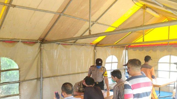 Puluhan Pelanggar Protokol Kesehatan Terjaring Operasi Petugas di Kalijodo Jakarta Barat