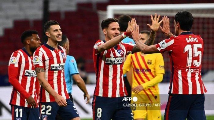 Klasemen Liga Spanyol - Atletico Madrid Masih di Puncak, Ditempel Ketat Barcelona