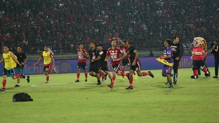 Bali United Selebrasi Juara Liga 1 2019, Sudah Pasti Juara? Setengah Lusin Gol di Segiri Jawabannya