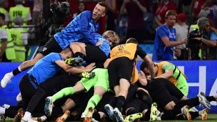 Rusia 3 - 4 Kroasia, Karakter Juara Subasic Jadi Kunci Kemenangan