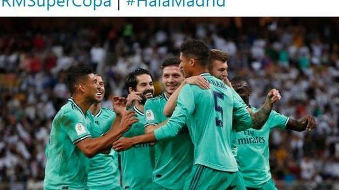 VIDEO Gol Toni Kroos Buat Pelatih Valencia Garuk Kepala, Real Madrid ke Final Piala Super Spanyol