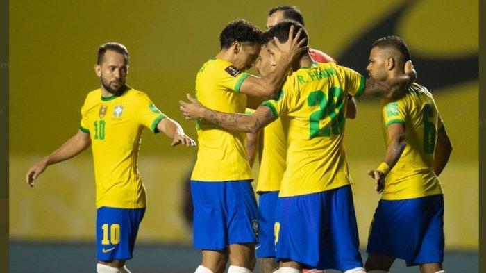 Dani Alves Pimpin Skuad Brasil di Olimpiade Tokyo 2020